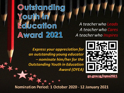 Outstanding Youth in Education ward 2021