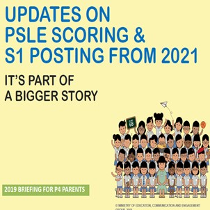 Updates on PSLE Scoring & S1 Posting from 2021